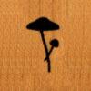 109 – Mushroom, pair