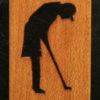 65 – Golfer, female