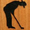 66 – Golfer, male